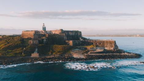 波多黎各圣胡安圣费利佩德尔摩罗城堡