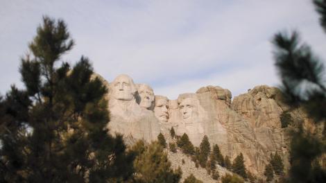南达科他州拉什莫尔山国家纪念公园