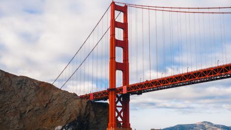 加利福尼亚州旧金山的金门大桥