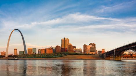密苏里州圣路易斯 大拱门